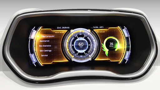 LightScape Digital Instrument Cluster
