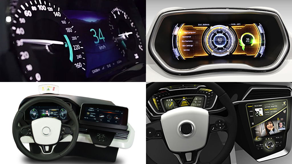 Instrument clusters 2013-2016