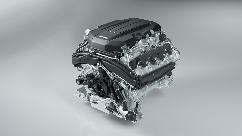 V8 combustion engine