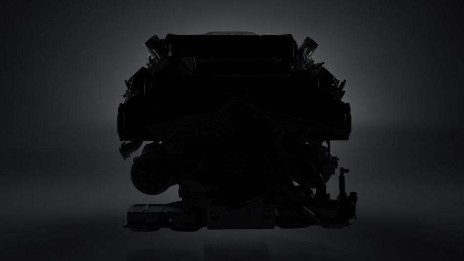 V8 combustion engine - Press to open looped animation on instagram